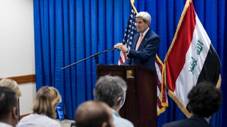 John Kerry à Bagdad pour soutenir l'Irak contre l'EI