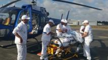 Un septuagénaire souffrant de complications cardiaques héliporté d'Ouezzane à l'Hôpital militaire de Rabat