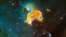 Feux d'artifice stellaires il y a quelques  millions d'années
