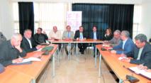 Driss Lachguar lors de la tenue de la Commission nationale ittihadie des élections