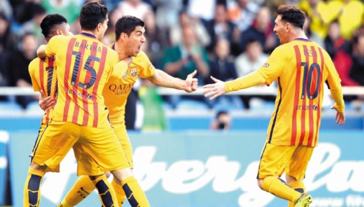 Le Barça taille en pièces le Depor