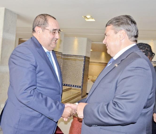 Driss Lachguar reçoit le président du Parti socialiste allemand