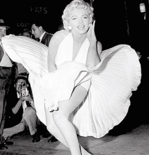 Une robe de Marilyn Monroe aux enchères
