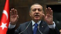 Erdogan défend la laïcité après les propos du président du Parlement