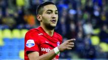 Hakim Ziyech nominé au titre  de meilleur footballeur de l'Eredivisie