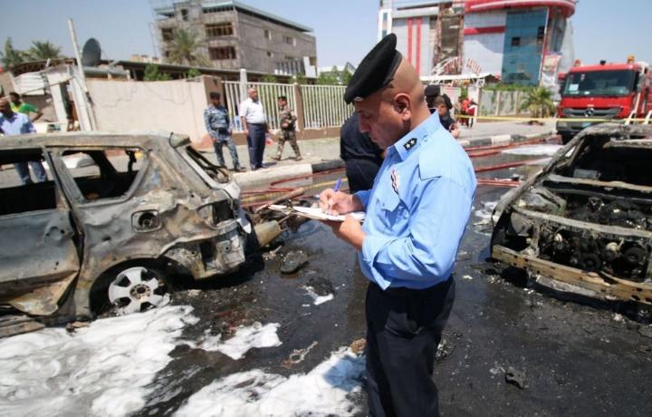 33 morts dans un double attentat de l'EI dans le sud de l'Irak à majorité chiite