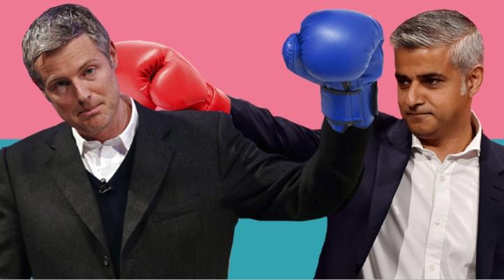 Deux candidats diamétralement opposés en course à la mairie de Londres