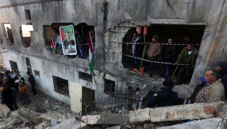 Israël détruit  le logement d'un Palestinien  accusé d'avoir tué 2 colons