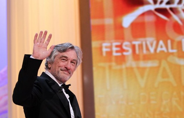 Robert De Niro au Festival de Cannes pour une projection spéciale