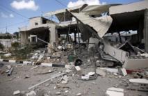 Les hostilités  entrent dans leur 4e jour à Gaza
