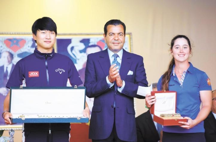 Jeunghun Wang remporte la 43ème édition du Trophée Hassan II de golf