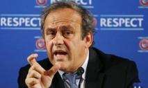 Michel Platini démissionne de la présidence de l'UEFA