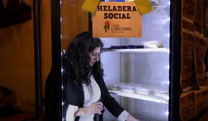"""Dans une Argentine en crise, l'essor des """"frigos sociaux"""""""