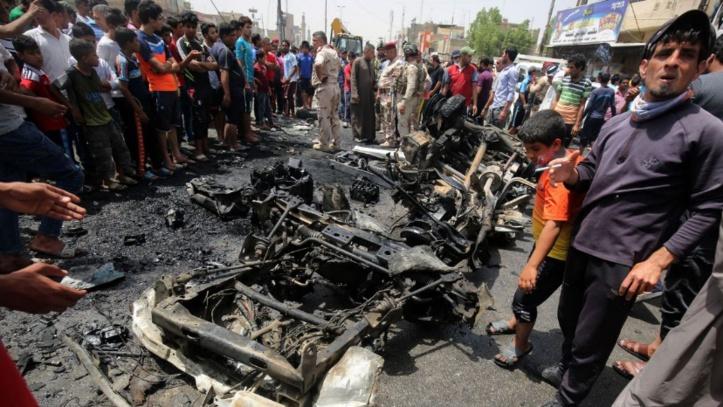 Les trois attentats qui ont plongé Bagdad dans le deuil ont fait 94 morts et 150 blessés