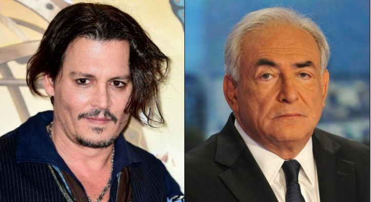 Johnny Depp dans un film inspiré de l'affaire DSK