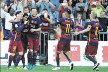 Le Barça dame le pion au Real et embrasse son 24ème sacre