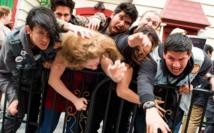 Des candidats au casting organisé par Universal, qui recherche une centaine de zombies. / AFP