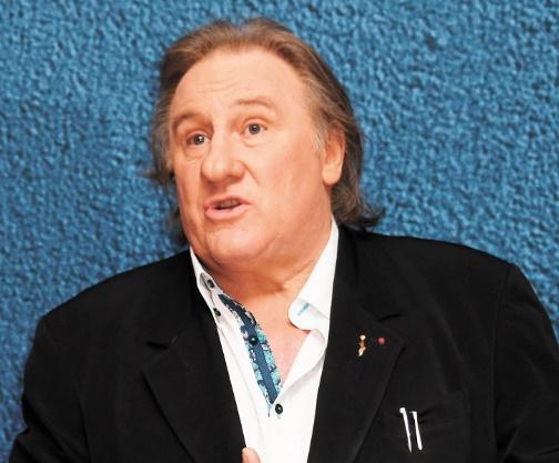 """""""Tour de France"""" Depardieu fait son show"""