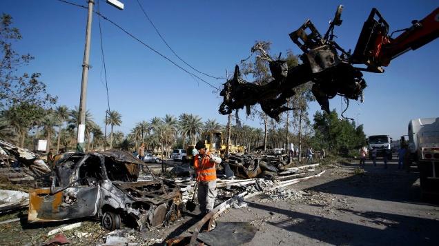 Neuf soldats irakiens tués lors d'une opération au sud de Bagdad