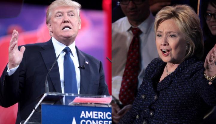 Aux Etats-Unis, l'écart entre Clinton et Trump se resserre