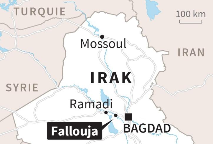 L'armée irakienne se lance à l'assaut de Fallouja