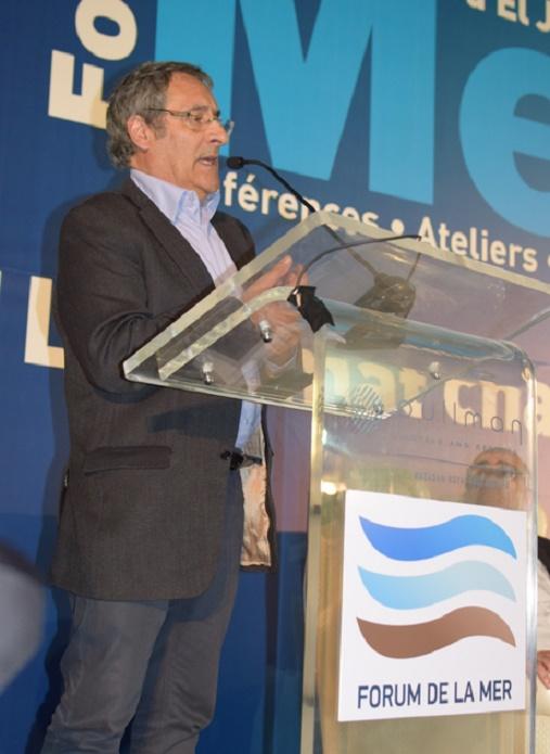 Giles Bœuf, conseiller scientifique pour l'environnement auprès de Ségolène Royal