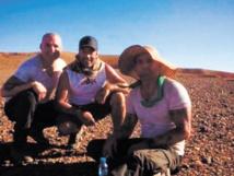 "L'équipe de ""Prison Break"" à Ouarzazate"