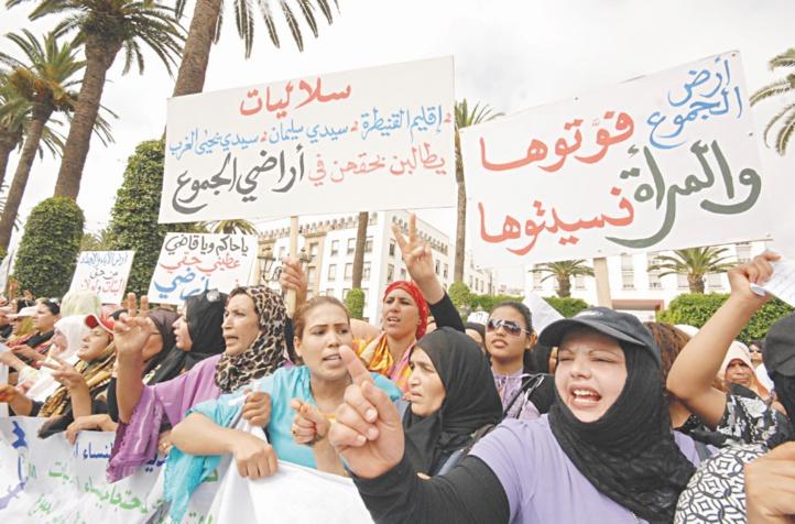Les Soulalyates de Sidi Yahya El Gharb gravement lésées