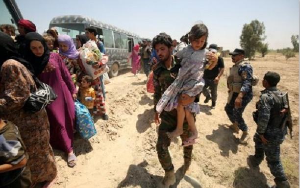 Au moins 20.000 enfants bloqués à Fallouja en Irak