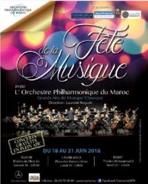 L'Orchestre Philharmonique du Maroc célèbre la Fête de la musique