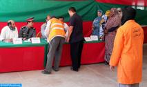 Opération de distribution de denrées  alimentaires dans les provinces de Guelmim, d'Oued Eddahab et d'Aousserd