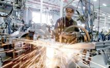 La production d'industries manufacturières en hausse