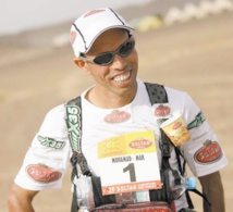 Ahansal à l'ultra-marathon du Badwater