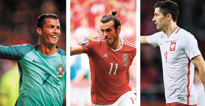 Ronaldo, Bale, Lewandowski Déjà trois stars en quarts