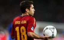 Italie-Espagne: Jordi Alba prévoit un duel plus difficile qu'en 2012