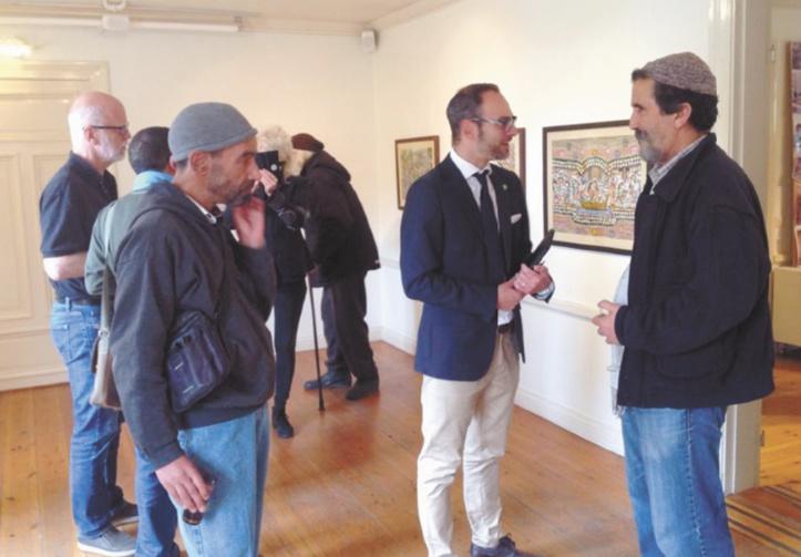 Des artistes souiris exposent  en Suède
