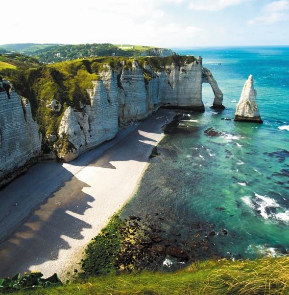 Les destinations les plus spectaculaires du monde :  Etretat - Haute-Normandie, France