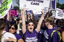 Grande victoire pour le droit à l'avortement aux Etats-Unis