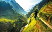 Les destinations les plus spectaculaires du monde :  Mu Cang Chai - Vietnam