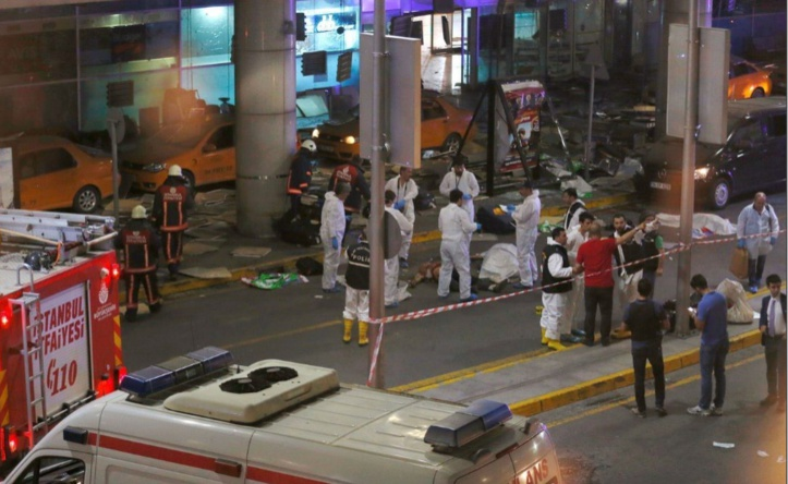 Horrible carnage à Istanbul