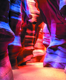 Les destinations les plus spectaculaires du monde : Antelope Canyon - Arizona, Etats-Unis