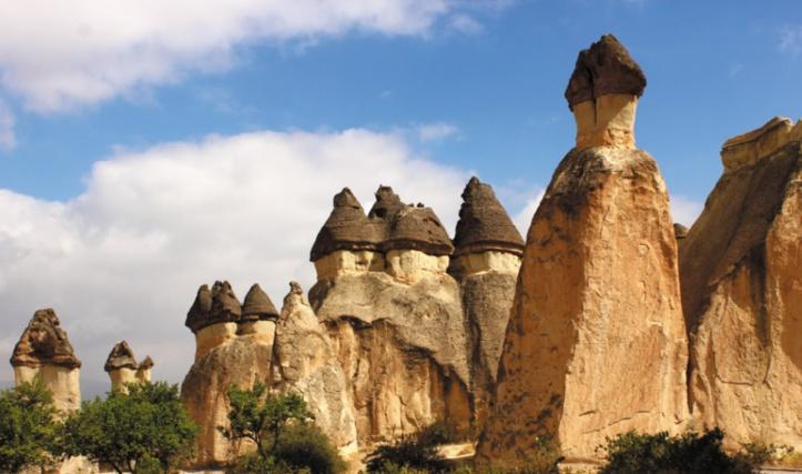 Les destinations les plus spectaculaires du monde : Vallée de Göreme - Turquie