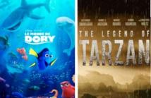 Dory fait plus fort que Tarzan au box-office