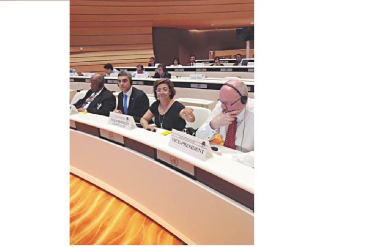 Ouafa Hajji au Conseil de l'I.S :  L'égalité dans l'éducation, un levier sans lequel il ne peut y avoir ni progrès ni réduction des inégalités