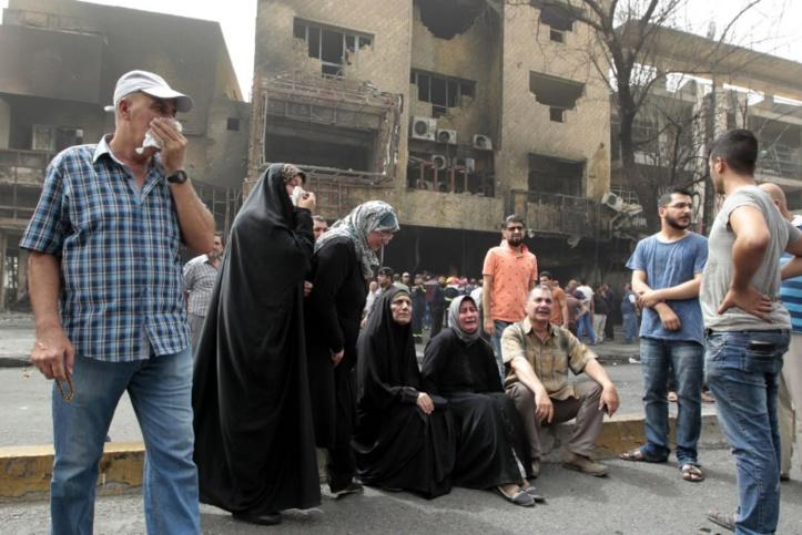 L'Irak décrète trois jours de deuil après un attentat de l'EI ayant fait plus de 200 morts