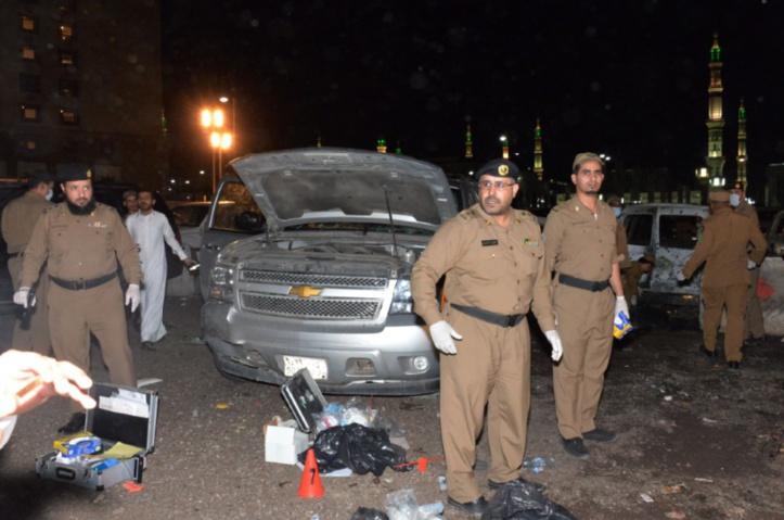 Vague d'attentats suicide en Arabie Saoudite