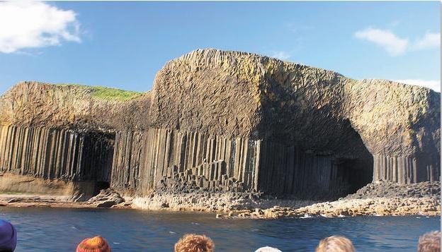 Les destinations les plus spectaculaires du monde : La grotte de Fingal - Ecosse