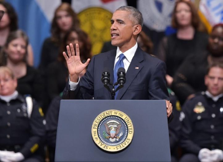 A Dallas, Obama appelle l'Amérique à la réconciliation