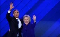 """Obama exhorte l'Amérique à porter """"Hillary"""" vers la victoire"""