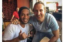 Ronaldinho et David Guetta ont  un projet de collaboration musicale